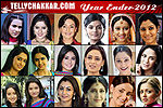 Top Actors (Female) of 2012