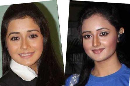 Tina Dutta , Rashmi Desai