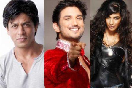 Shah Rukh Khan, Sushant Singh Rajput and Anushka Manchanda