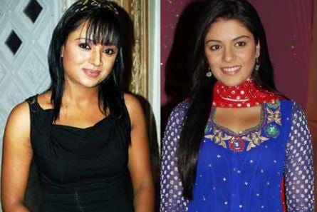 Parul Chauhan and Pooja Gor