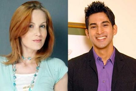 Suzanne Bernert and Vivan Bhatena