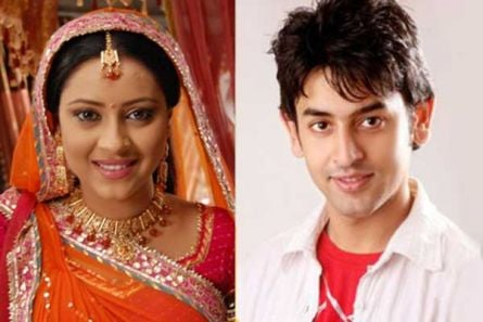 Pratyusha Banerjee and Shashank Vyas