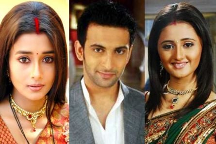 Tina Dutta, Nandish Sandhu and Rashmi Desai