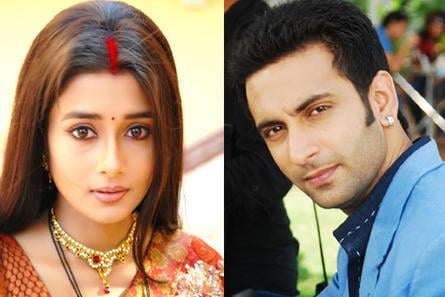 Tina Dutta and Nandish Sandhu