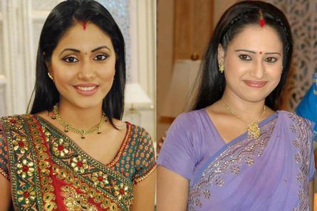 Hina Khan and Pooja Joshi