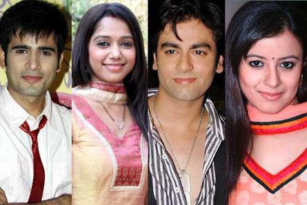 Karan Tacker, Yashashree Masurkar, Karan Godwan and Garima Bhatnagar