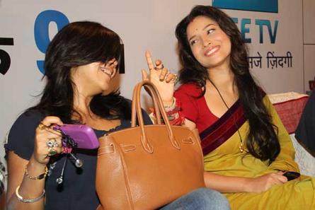 Ekta Kapoor and Ankita Lokhande