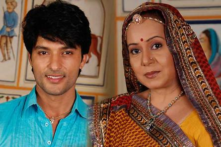 Anas Rashid and Neelu (Bhabho)