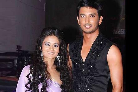 Choreographer Shampa with Sushant Singh Rajput