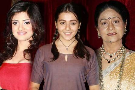 Shritama Mukherjee, Priyal Gor and Aruna Irani