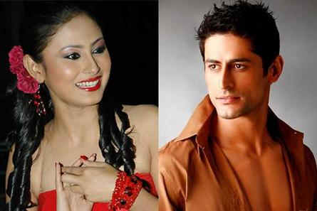 Mouni Roy and Mohit Raina