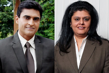 Mohnish Behl And Sneha Rajani
