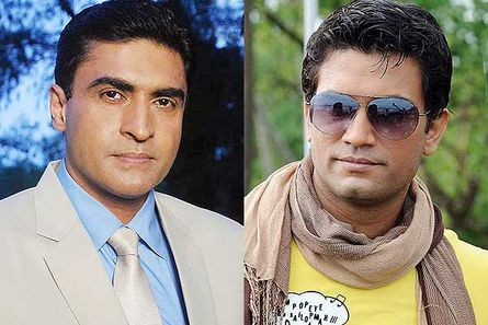 Mohnish Behl and Sharad Kelkar