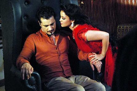 Danish (Adhiraj) and Adaa Khan (Amrit)