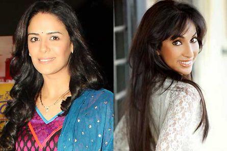 Mona Singh and Mouli Ganguly