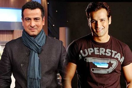 Ronit and Rohit Roy