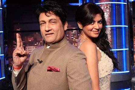 Shekhar Suman and Kavita Kaushik
