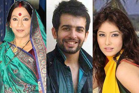 Hema Singh, Jay Bhanushali and Leena Jumani