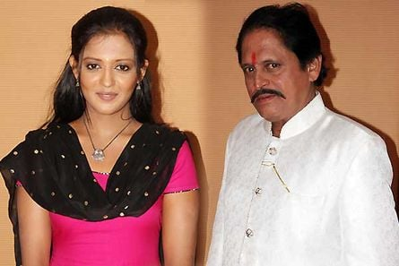 Gulki Joshi and Ravindra Mankani