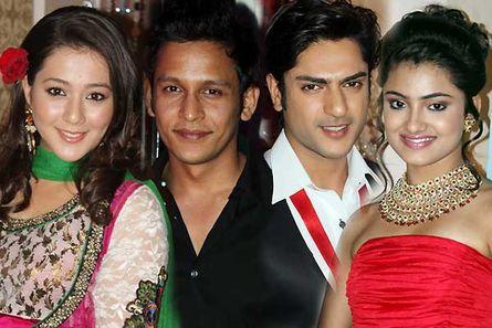 Priyal Gor, Abhishek Rawat, Ashish Kapoor and Shritama Mukherjee