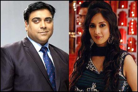 Ram Kapoor and Chahat Khanna