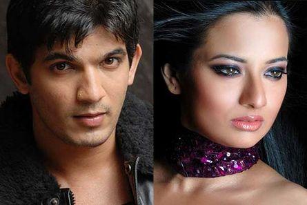 Arjun Bijlani and Neha Janpandit