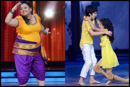 Bharti Singh and Darsheel Safary