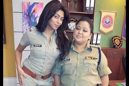 Kavita Kaushik and Bharti Singh