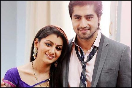 Sriti Jha and Harshad Chopda