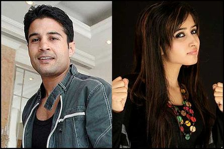 Rajeev Khandelwal and Sana Sheikh