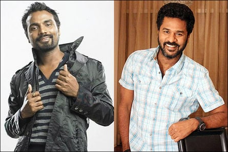 Remo Dsouza and Prabhu Deva