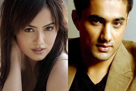 Sana Khan and Vishal Karwal