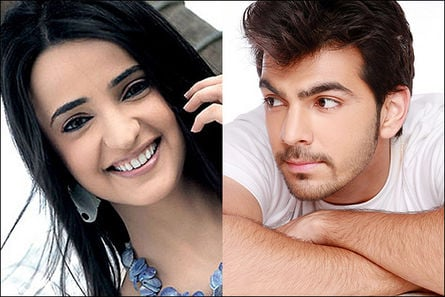 Sanaya Irani and Karan V Grover