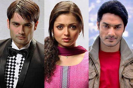 vivian Dsena, Drashti Dhami and Avinesh Rekhi
