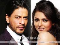 Shah Rukh Khan and Drashti Dhami