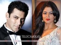 Salman Khan and Kavita Kaushik