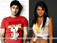 Ranbir Kapoor and Jenniger Winget