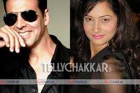 Akshay Kumar and Ankita Lokhande