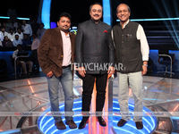 Amit Phalke (Non Fiction Head, ETV Marathi), Sachin Khedekar and Siddharth Basu