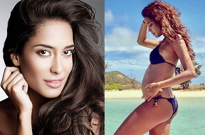 Lisa Haydon announces pregnancy with a sizzling bikini pic