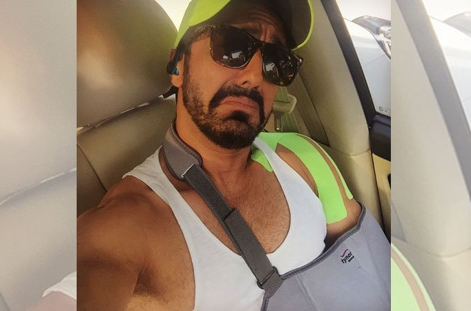 Ouch!! Ashish Chowdhry injured! - TV Shows