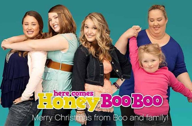 """a critique of the television show here comes honey boo boo It's impossible to watch five minutes of the tlc show without  the artist ingrid v wells examines """"reality television  in honey boo boo's."""