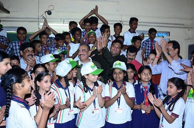 Cid team celebrates children s day with smile foundation