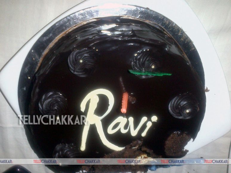 Birthday Cake Image Ravi : Ravi Dubey s birthday bash