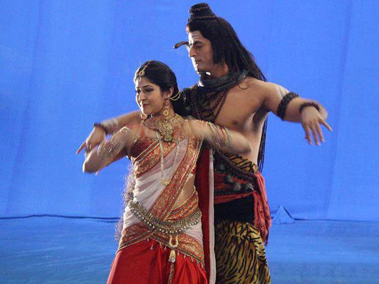 Dance of love - Shiv and Parvati