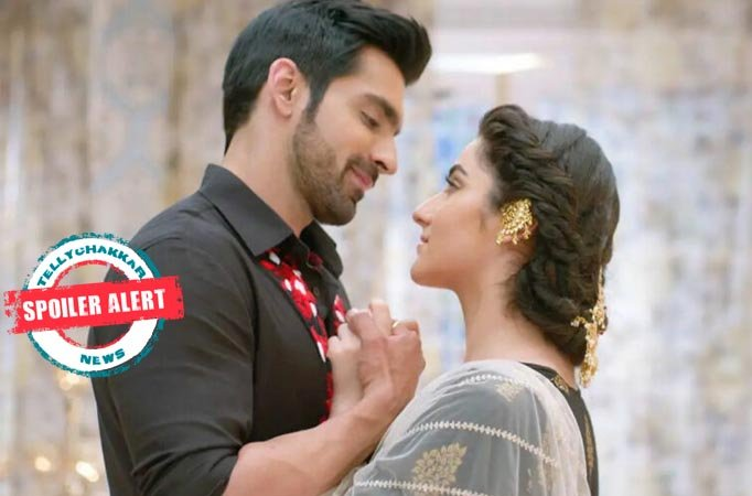 Watch Azaan and Shayra's sizzling 'pool' romance in Colors' Bahu Begam