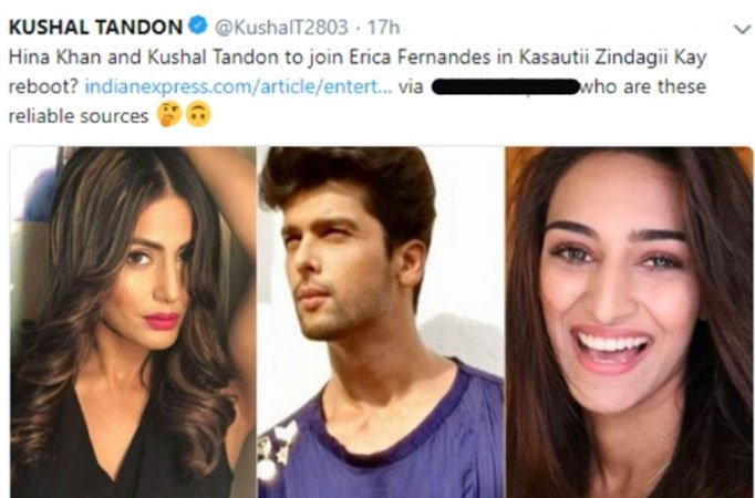 Kushal in Kasautii Zindagii Kay and other Telly Updates