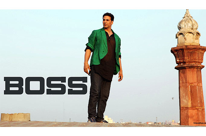 Huge poster for Akshay Kumar's Boss enters Guinness World ...