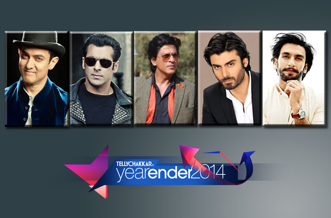 Top five male personalities of 2014