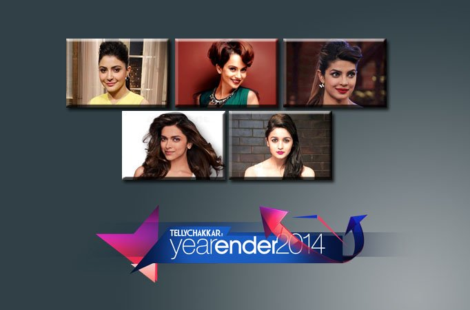2014: Top 5 Female Personalities in Bollywood